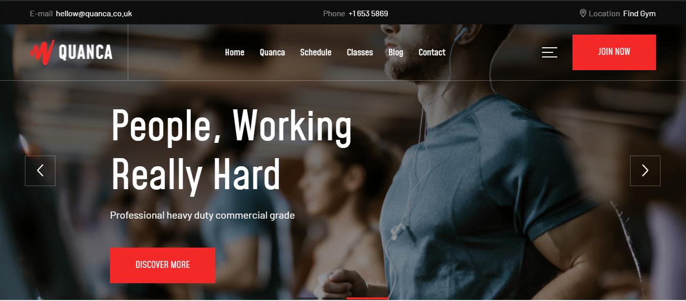 quanco-sports-website-template