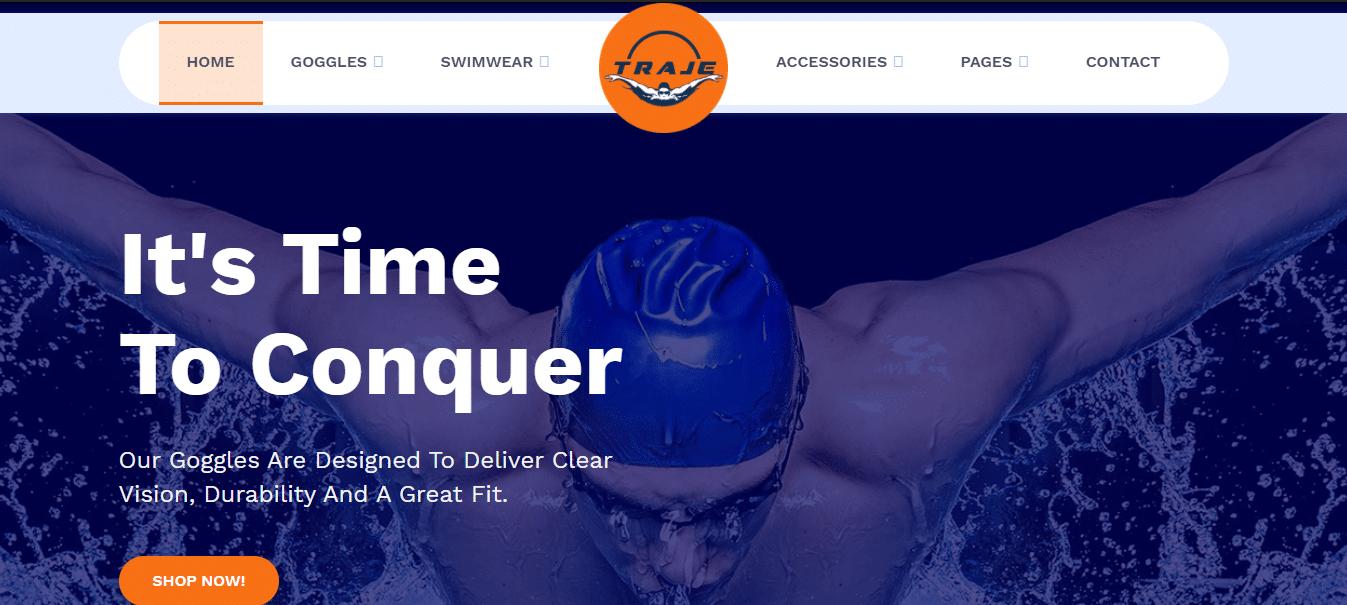 traje-sports-website-template