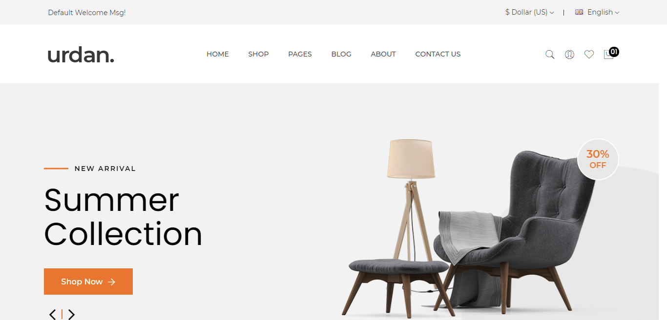urdan-interior-design-website-template