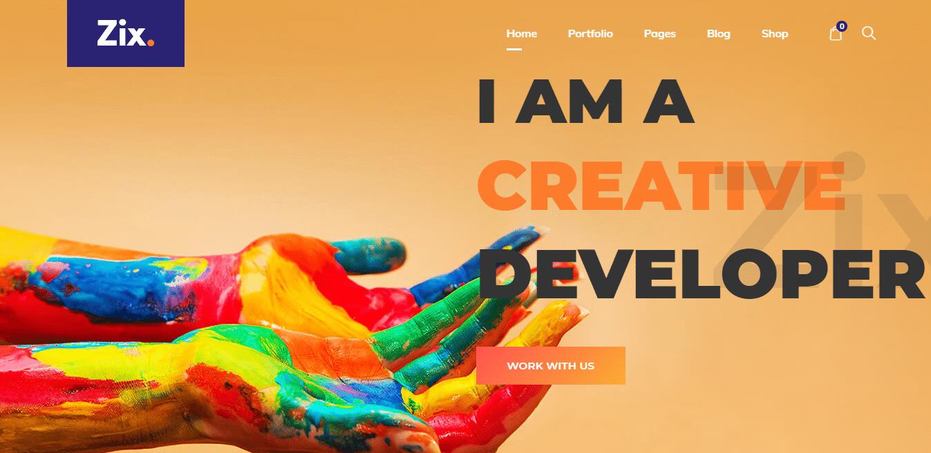 zix-graphic-website-template