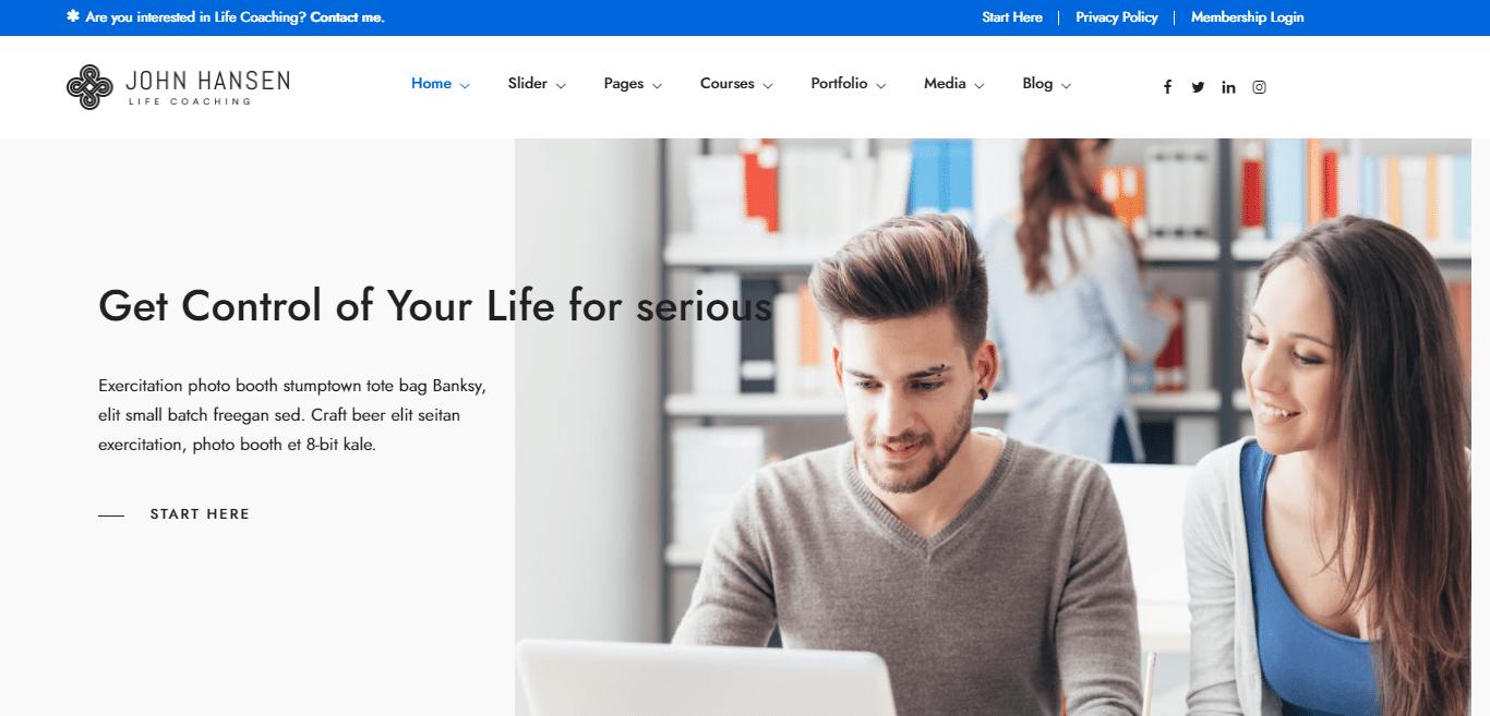 dotlife-education-website-template
