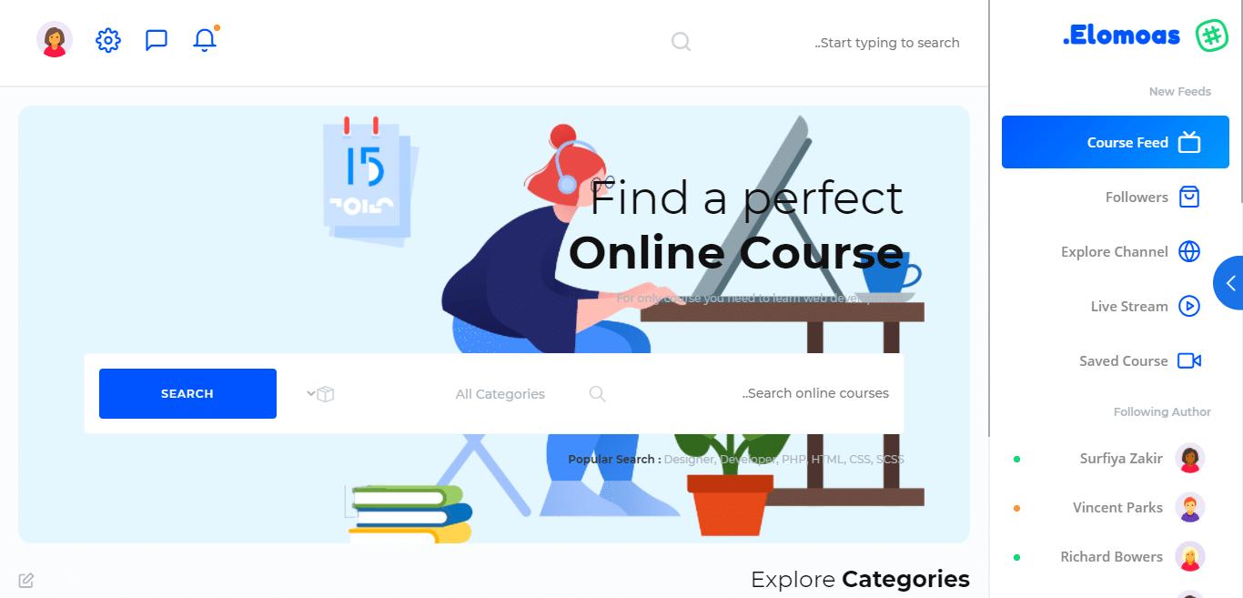 elomoas-education-website-template