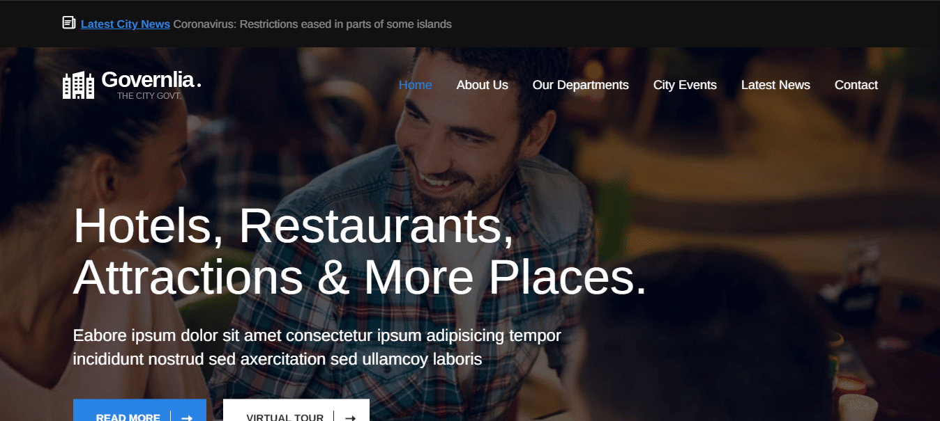 governlia-political-website-template