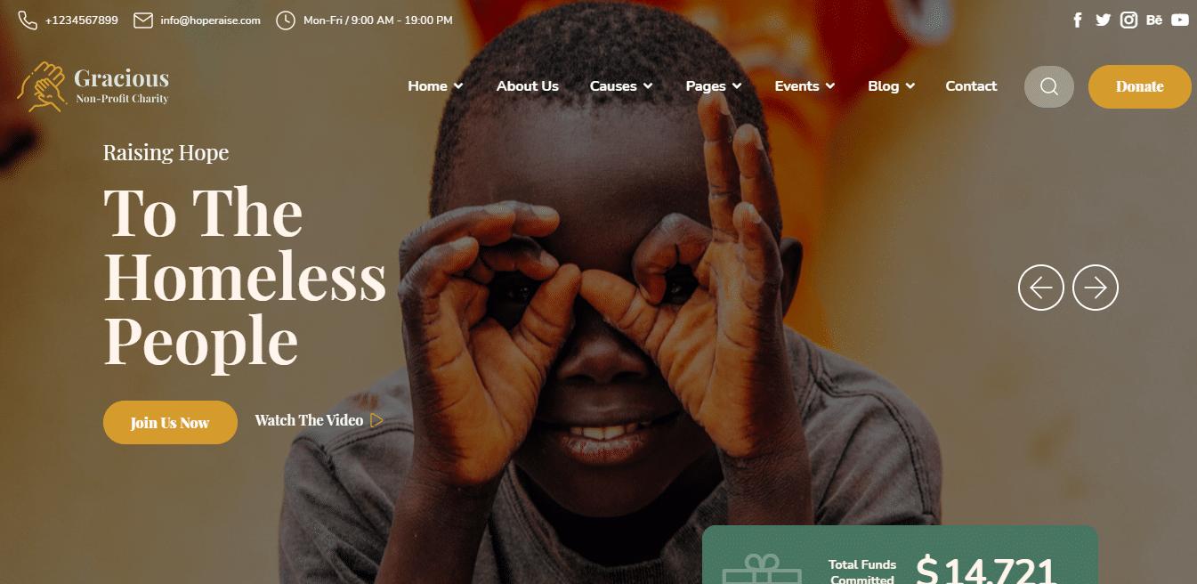 gracious-political-website-template