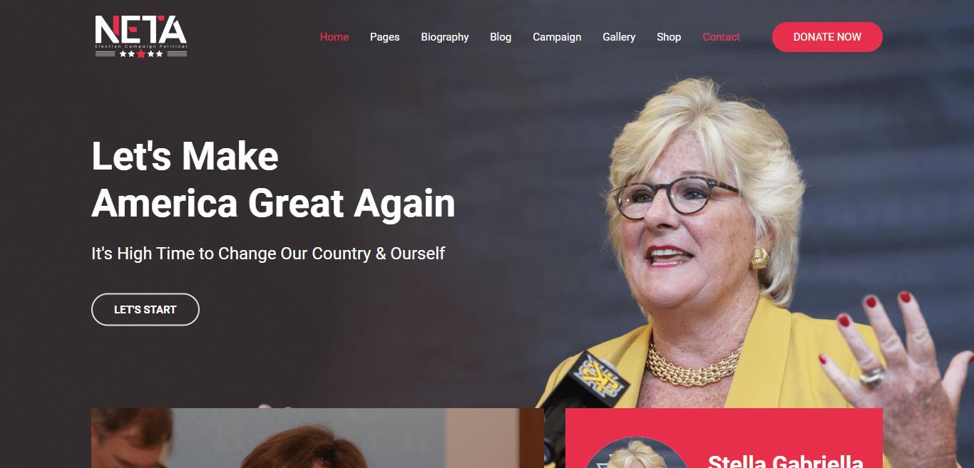 neta-political-website-template