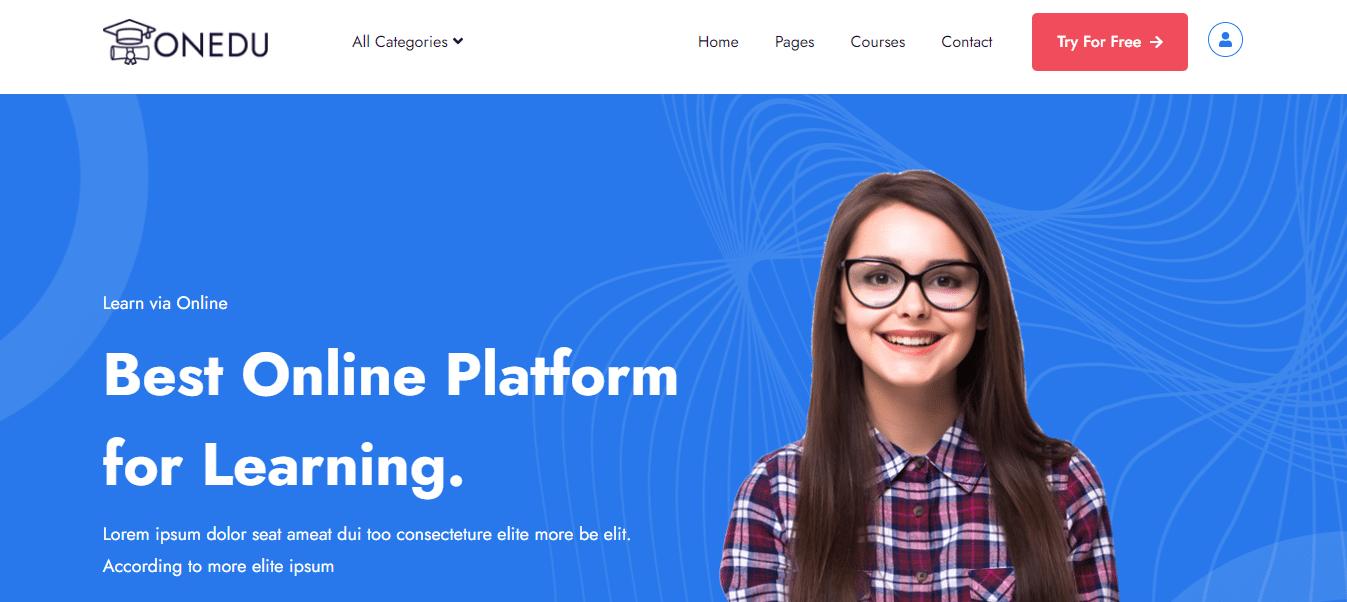 onedu-education-website-template