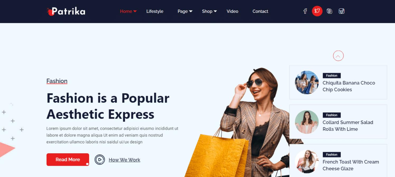 patrika-news-website-template