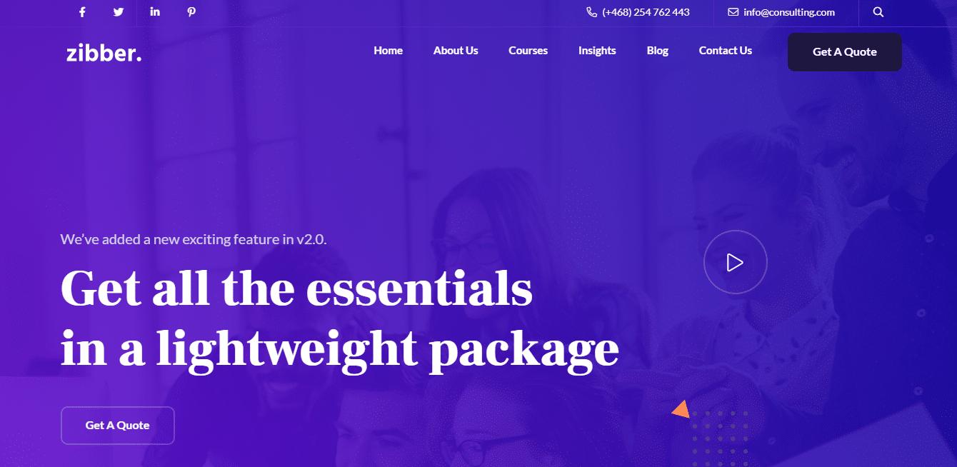zibber-html5-business-responsive-website-template