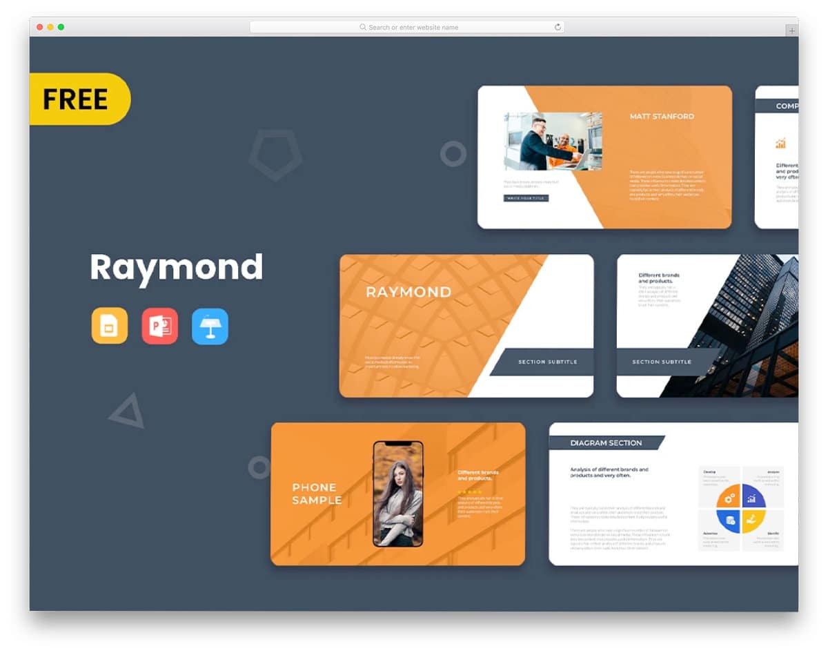 modern powerpoint template free download