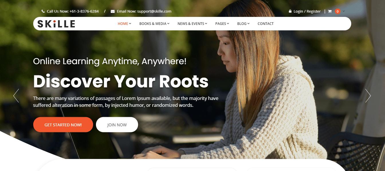 skille-event-website-template