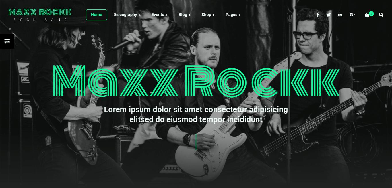 musician-music-website-template