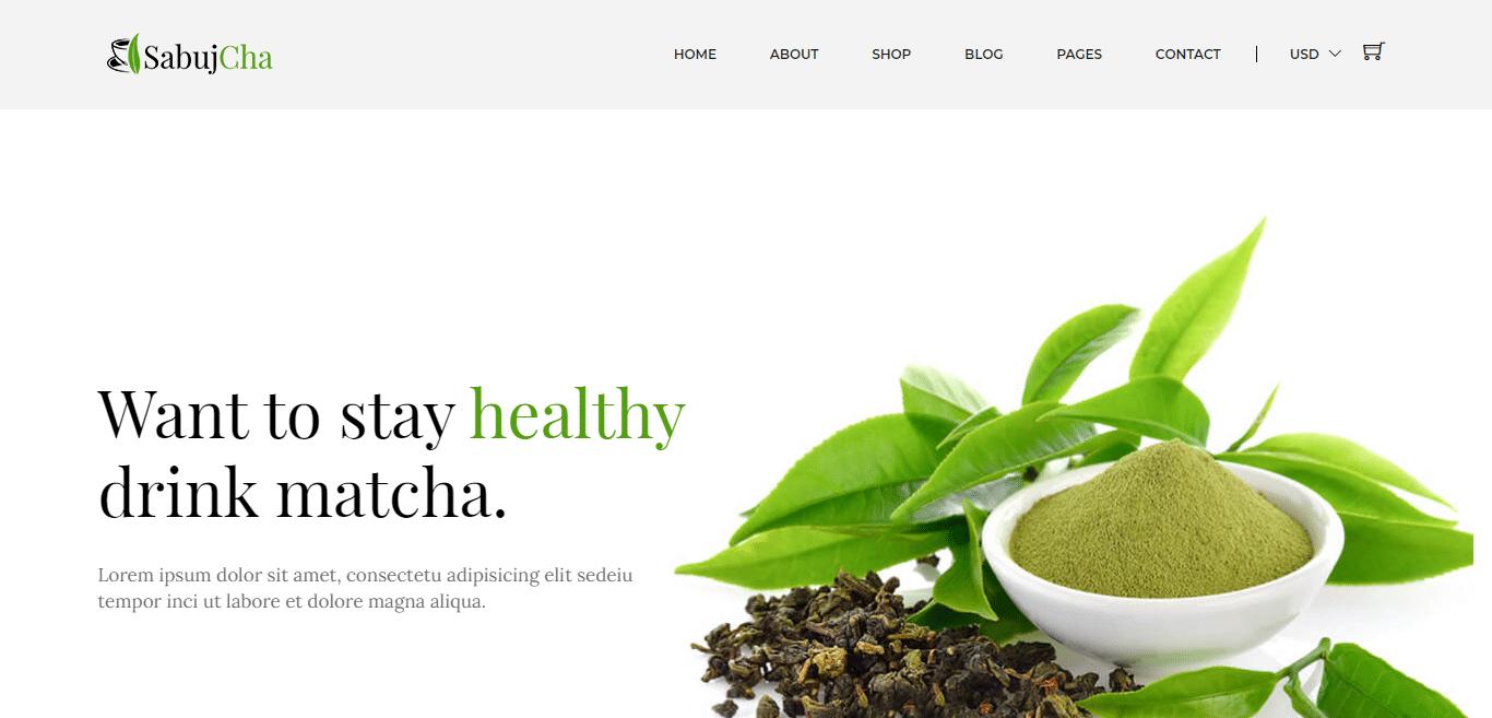 sabujcha-coffee-website-template