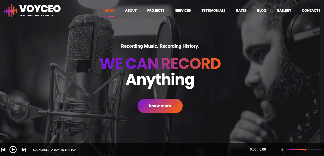 voyceo-music-website-template