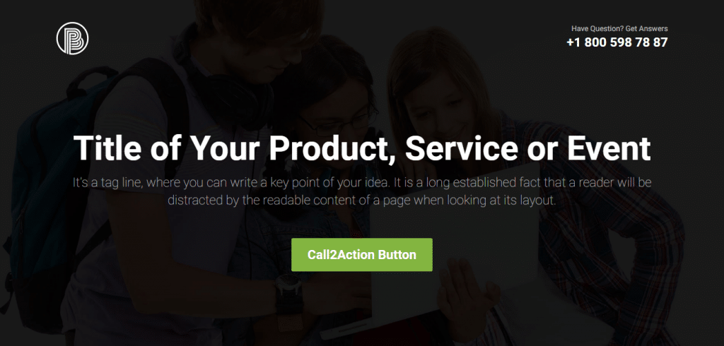 booster-free-business-bootstrap-landing-page-template