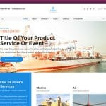 Unship – Free Trucking-Transportation & Logistics HTML Template For Transport Company Website