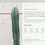 Frontiers – Free HTML5 Bootstrap 4 Template