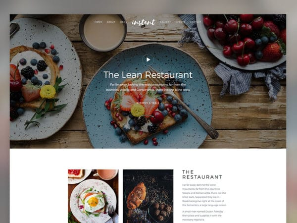 Instant Free HTML5 Template Using Bootstrap 4